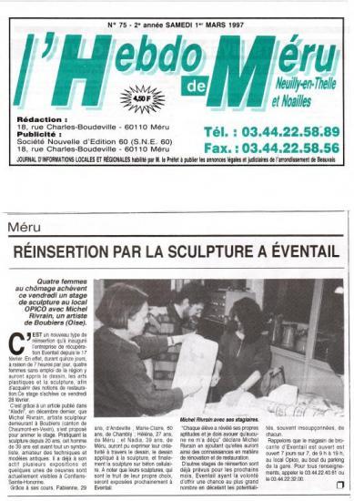 Hebdo de Méru - 01-03-1997