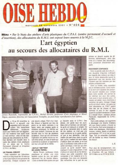 Oise Hebdo - 28-11-2001
