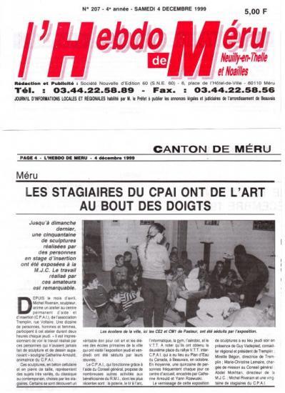 Hebdo de Méru - 04-12-1999