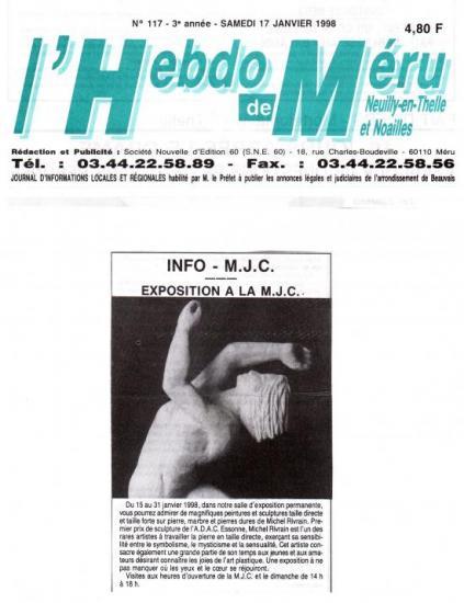 Hebdo de Méru - 17-01-1998