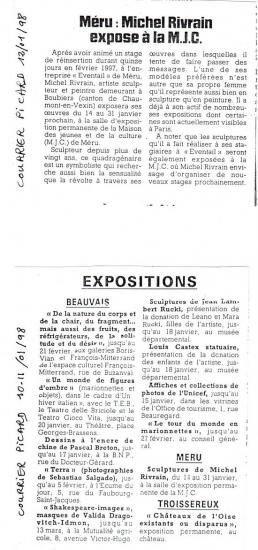 Courrier Picard 12-01-1998