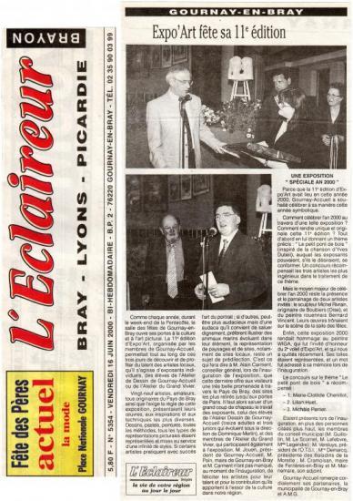L'Eclaireur Brayon 16-06-2000