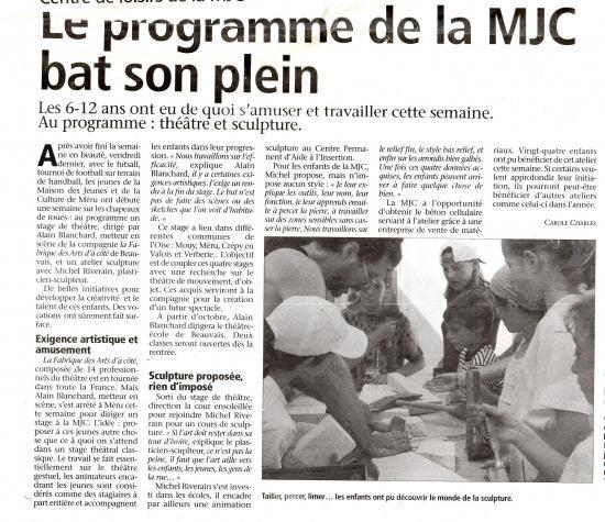 L'Observateur de Beauvais - 26-07-2002