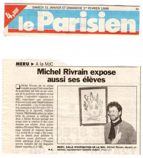 Le Parisien- 01-02-1998