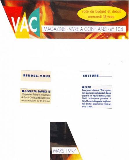 VAC n°104 mars 1997