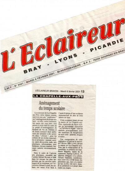 L'Eclaireur Brayon 06-02-2001
