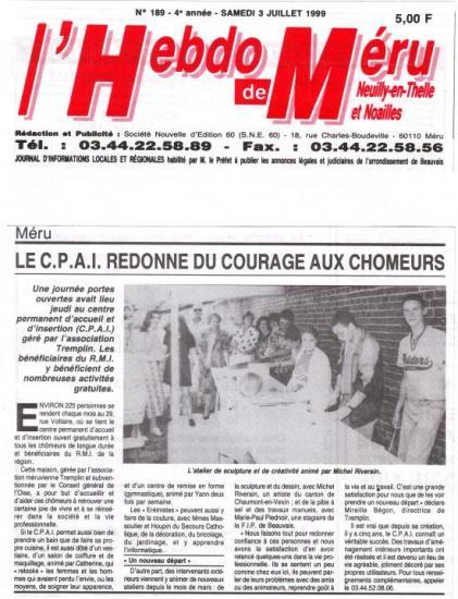Hebdo de Méru - 03-07-1999