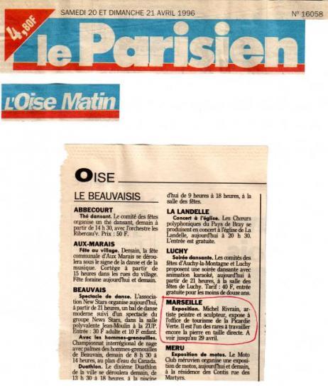 Le Parisien- 20-04-1996