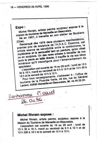 Bonhomme Picard 26-04-1996