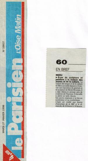 Le Parisien- 27-01-1998