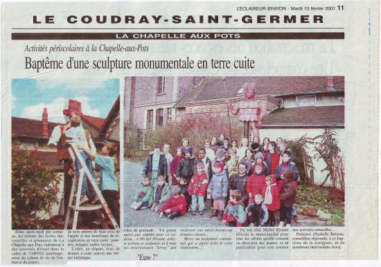 L'Eclaireur Brayon 13-02-2001 (début)