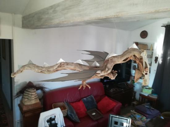 Dragon vu de haut